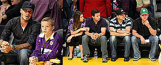 Photos of Celebrities At Game Five of the NBA Finals