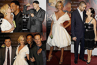 Images of Will Smith, Charlize Theron, Jason Bateman at Hancock Paris Premiere