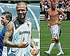 Shirtless David Beckham Photos Playing With LA Galaxy Against DC United