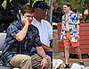Photos of Fat Matt Damon on the Set of The Informant Shirtless in Hawaii