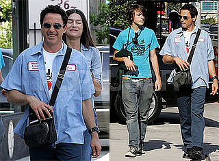 Robert Downey Jr. and Indo Downey Out in Los Angeles
