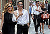 Photos of Jennifer Lopez and Marc Anthony Shopping in Milan