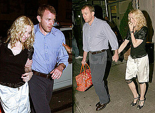 Photos of Madonna and Guy Ritchie Holding Hands