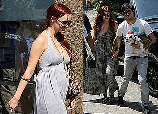 Photos of Pregnant Ashlee Simpson and Pete Wentz in LA Fourth of July Weekend