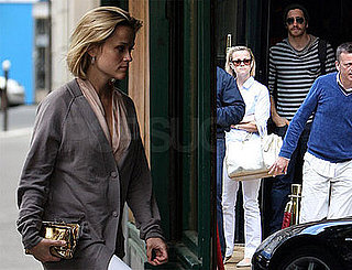 Photos of Reese Witherspoon and Jake Gyllenhaal in Paris