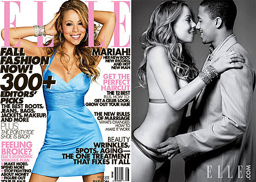 Mariah Carey in a Bikini For Elle Magazine