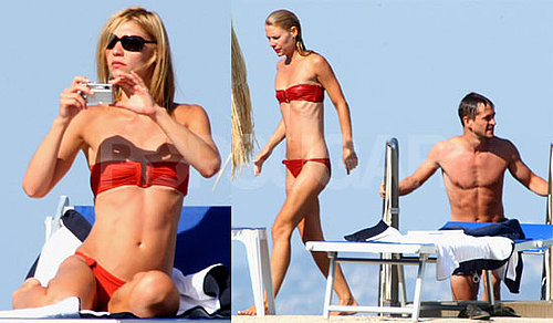 Claire Danes Bikini Photos With Hugh Dancy in Italy