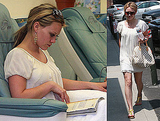 Photos of Hilary Duff At Nail Salon In Toluca Lake