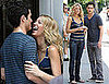 Photos of Blake Lively and Penn Badgley On Gossip Girl Set in NYC