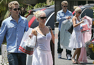 Photos of Heidi Montag and Spencer Pratt Shopping at Fred Segal
