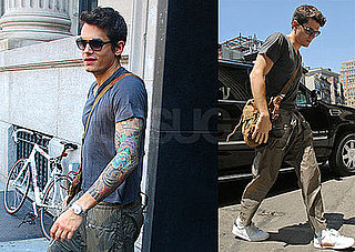 Photos of John Mayer Shopping in NYC