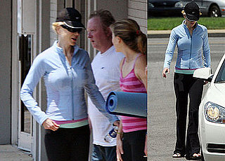 Photos of New Mom Nicole Kidman Leaving a Yoga Class