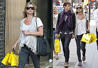 Photos of Kate Moss and Jamie Hince Shopping in Central London