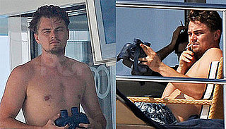 Photos of Shirtless Leonardo DiCaprio in Ibiza, Spain