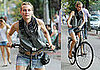 Photos of Diane Kruger Riding Her Bike Around NYC