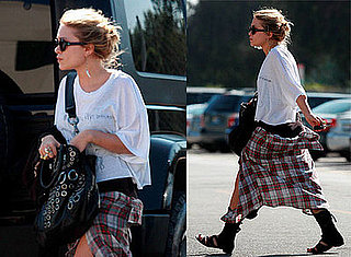 Photos of Mary-Kate Olsen Out in LA Heading to Neil George Salon