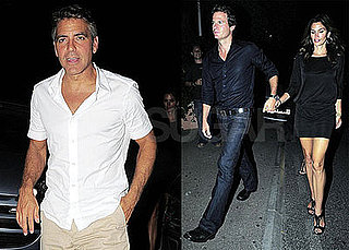 Photos of George Clooney Out in France With Rande Gerber and Cindy Crawford