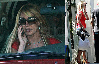 Photos of Britney Spears Leaving the Salon