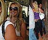 Photos of Britney Spears Leaving the Little Door Restaurant in LA