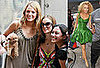 Photos of Blake Lively and Leighton Meester on the Set of Gossip Girl With Their Puppies