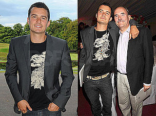Photos of Orlando Bloom and Colin Stone at Tracey Emin Retrospective