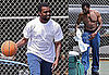 Photos of Shirtless Kanye West Playing Basketball in Hawaii
