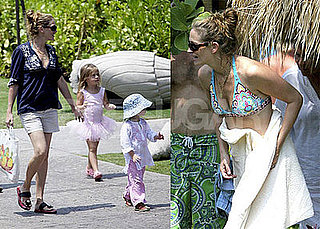Julia Roberts Bikini Photos in Hawaii With Her Children Hazel, Phinnaeus and Henry Moder