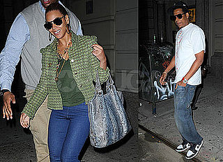Photos of Beyonce Knowles and Jay-Z In New York City