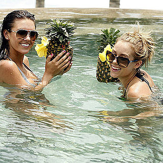 Bikini Photo of Audrina Patridge and Lauren Conrad in Cabo San Lucas