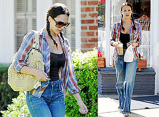 Photos of Jessica Alba Heading Out For Iced Coffee