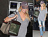 Photos of Jessica Simpson and Daisy at LAX on Her Way to California State Fair