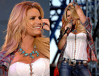 Photos of Jessica Simpson Performing at California State Fair in Sacramento