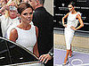 Photos of Victoria Beckham Promoting Her New Perfume in Manchester, England; Revealing New Interview