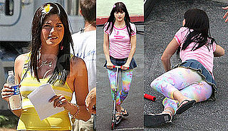 Photos of Selma Blair on the Set of Kath and Kim