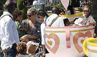 Photos of Heidi Klum, Seal and Their Celebrity Babies at Disneyland
