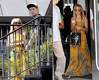 Photos of Nicole Richie and Joel Madden House Hunting in LA