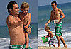 Photos of Gavin Rossdale and Kingston at the Beach in Malibu