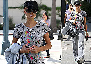 Photos of Paris Hilton at Portofino Tanning Salon