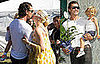 Photos of Gwen Stefani, Gavin Rossdale, and Kingston Rossdale at Roots &amp; Shoots