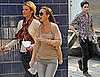Photos of Blake Lively, Leighton Meester, Ed Westwick, Penn Badgley, and Chace Crawford Filming Gossip Girl in NYC