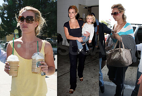 Photos of Britney Spears With Jayden James and Sean Preston In LA 2008-09-29 05:00:00