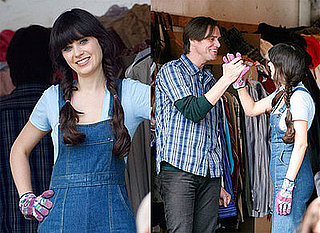 Photos of Jim Carrey and Zooey Deschanel on the Set of Yes Man