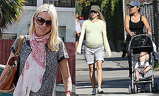 Photos of Very Pregnant Naomi Watts and Alexander Schreiber in Brentwood