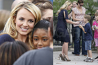 Britney Heads to the Bronx to Visit With Kids