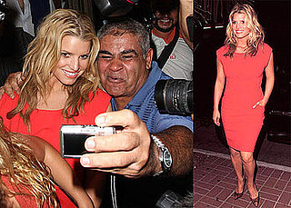 Photos of Jessica Simpson at Madeo With CaCee Cobb