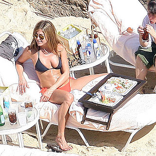 Photo of Jennifer Aniston Lunching in a Bikini