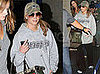 Photos of Jessica Simpson at LAX Airport in Dallas Cowboys Gear