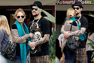 Photos of Nicole Richie and Joel Madden Being Affectionate