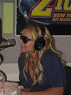 Britney Spears Talks Womanizer on Z100 Radio Station in New York