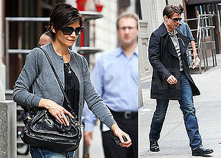 Photos of Tom Cruise and Katie Holmes in NYC 2008-10-04 07:02:56